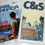 DIÁRIO recebe revistas Brasil Canadá e Comércio e Serviços de setembro e outubro