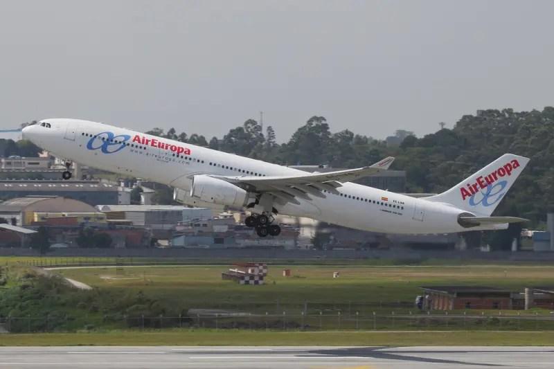 Air Europa anuncia voos diários de Madri para Miami e Nova Iorque