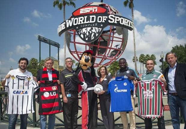 Agência lança roteiro para jornalistas cobrirem torneio de futebol em Orlando