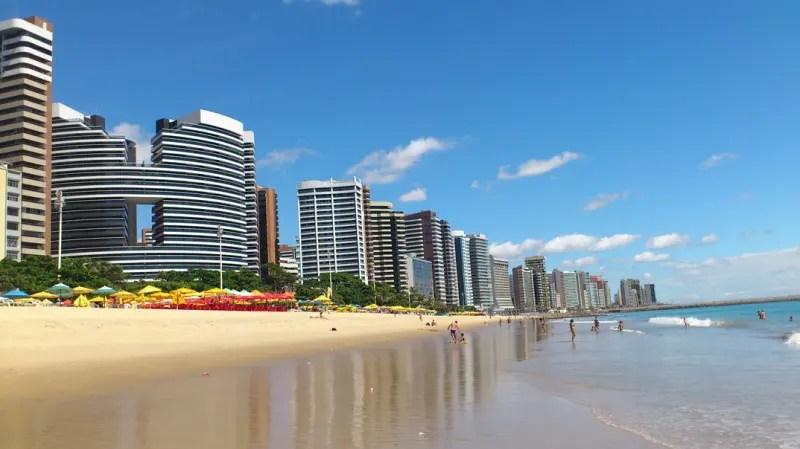 Fortaleza é uma das capitais brasileiras que despontam economicamente no nordeste (Foto: arquivo DT)