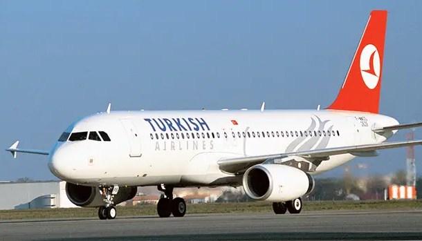 Turkish Airlines atinge 80,7% de ocupação, maior taxa (LF) registrada nos primeiros cinco meses do ano