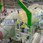 Airbus inicia montagem final maior membro da linha A350 XWB