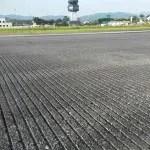 Infraero conclui grooving na pista do Aeroporto de Joinville
