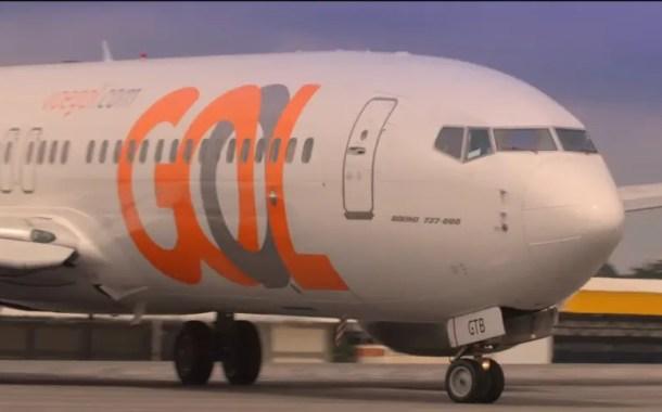 Demanda por voos domésticos da Gol cai mais que a oferta