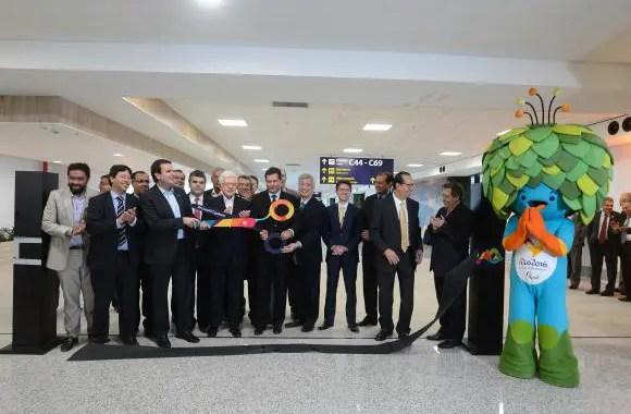 Aeroporto do Rio será a porta de entrada para Olimpíada, diz Eduardo Paes
