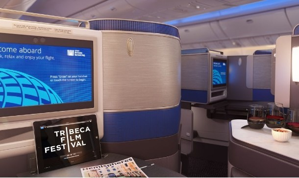 United Airlines anuncia nova Classe Executiva Polaris