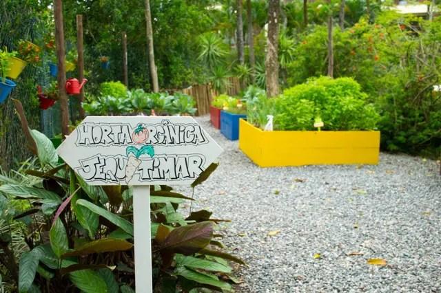 Horta Orgânica do Sofitel Guarujá quer estimular a alimentação saudável