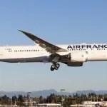 Air France comemora primeiros vôos do Boeing 787 Dreamliner