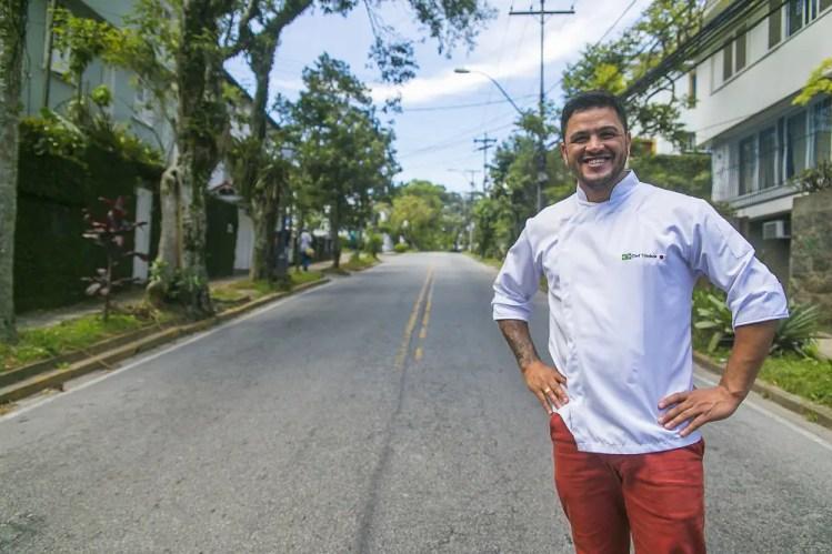 Rodrigo Trindade, chef do Sakurá Sushi e curador do festival (Foto: Bruno Wanderley)