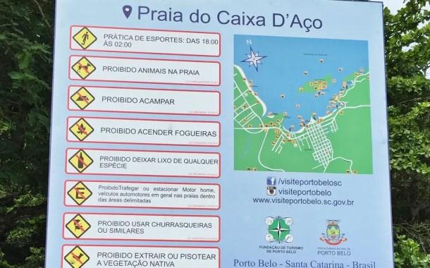 Porto Belo (SC) ganha placas de sinalização turística