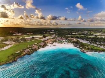 Foto aérea do resort Eden Roc Cap Cana (Foto: divulgação)