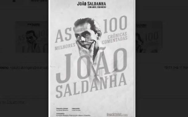 As 100 melhores crônicas de João Saldanha são reunidas em livro
