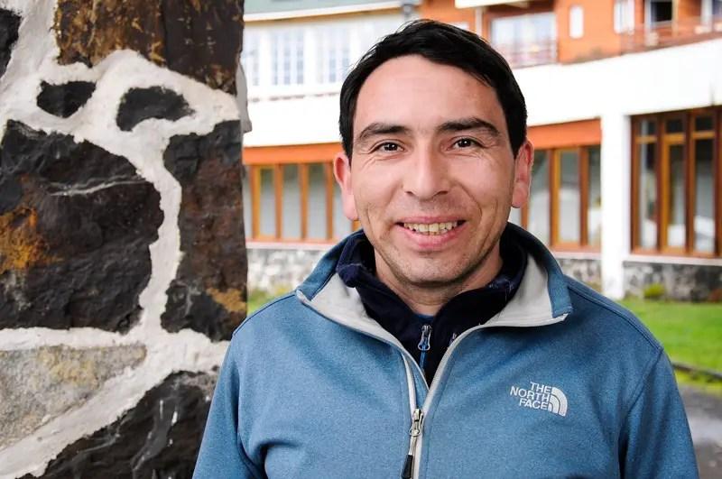 Dani Rosales, nosso guia e monitor de montaria