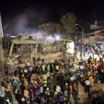 Equipes de resgate no México buscam por crianças em escola