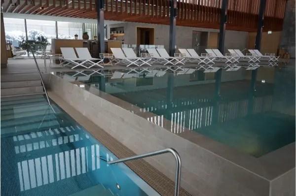 Sala de tratamento do spa