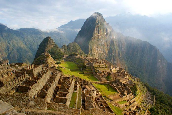 Machu picchu, a cidade perdida dos Incas. (Crédito: Paulo Atzingen)