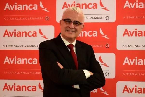 Tarcísio Gargioni, vice-presidente da Avianca Brasil