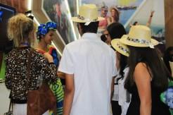 Turistas expositores trocam experiência na WTM Latin America 2018. (Crédito: Ana Azevedo)