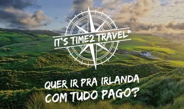 Concurso leva brasileiro para estudar na Irlanda com tudo pago