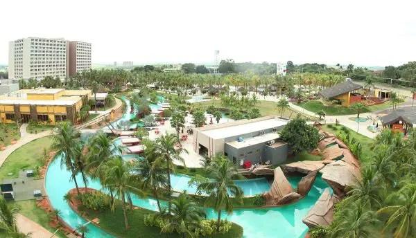 Hot Beach Resort, 1º pé na areia de Olímpia (SP), inicia operação soft opening em julho