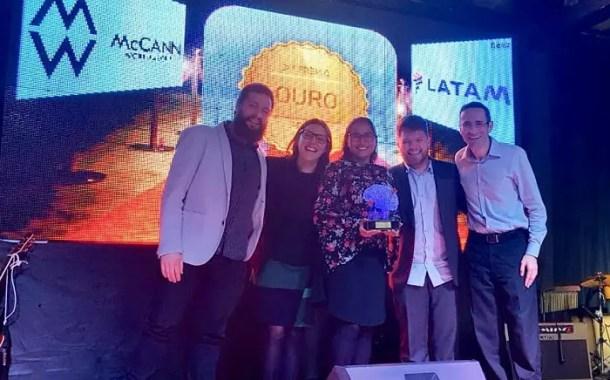 LATAM recebe o Prêmio ABEMD 2018 por campanha para a Black Friday