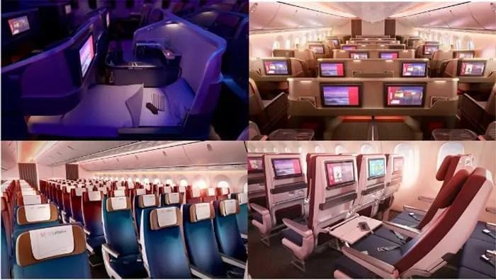 LATAM Airlines apresenta o desenho de suas novas cabinesPremium Business