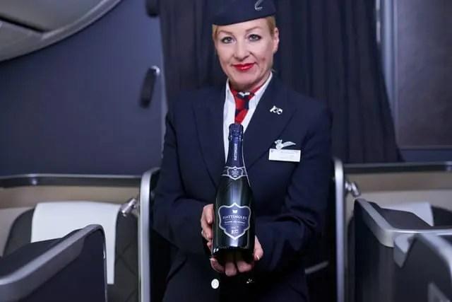 British Airways lança seu próprio espumante inglês