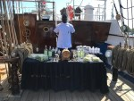 "O navio veleiro ""Cisne Branco"" navega com mercadoria brasileira"