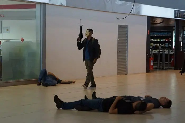 Polícia Federal realiza simulado com atirador ativo no saguão de embarque em Viracopos