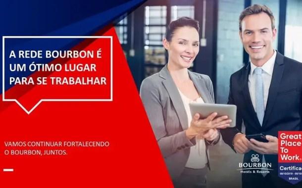 Rede Bourbon renova certificado Great Place To Work