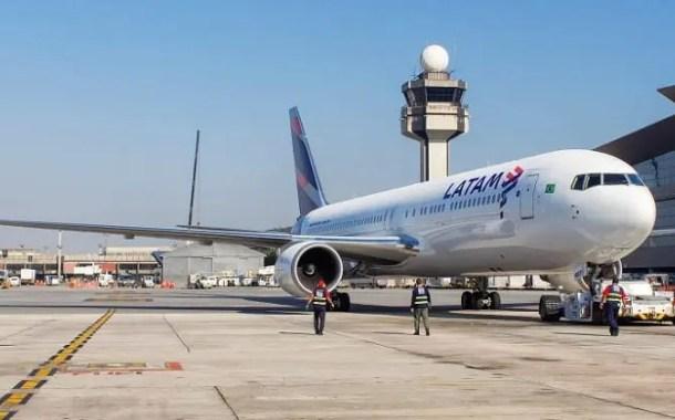 LATAM incrementa malha com mais 1,2 mil voos  e 218 mil assentos na alta temporada no Brasil