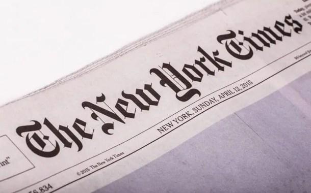 New York Times supera estimativas de lucro para terceiro trimestre