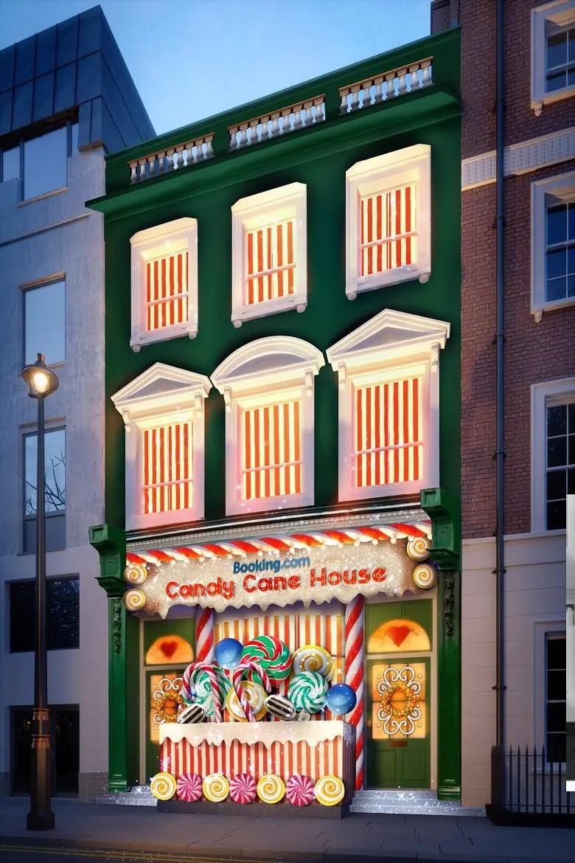 Booking.com oferece hospedagem em casa feita de doces em Londres