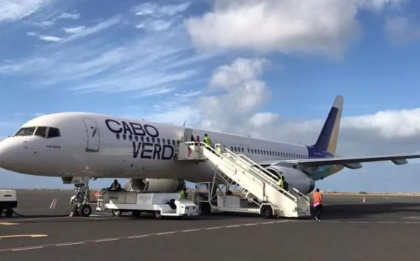 """Cabo Verde Airlines recebe terceiro avião """"Fontainhas"""""""