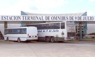 Terminal de omnibus de la ciudad.