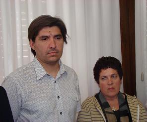 Darío Ríos y María Dolores Apraiz.