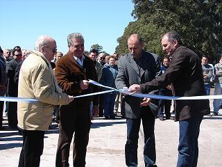 Acceso al Aeroclub inaugurado el 5 de octubre de 2005.