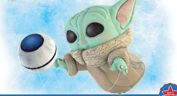 Baby Yoda recibe el globo del Desfile del Día de Acción de Gracias de Macy, gracias a Funko
