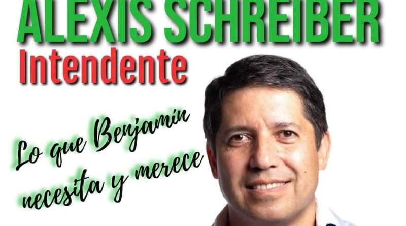Alexis Schreiber, intendentable sobresaliente que enfrenta a las estructuras