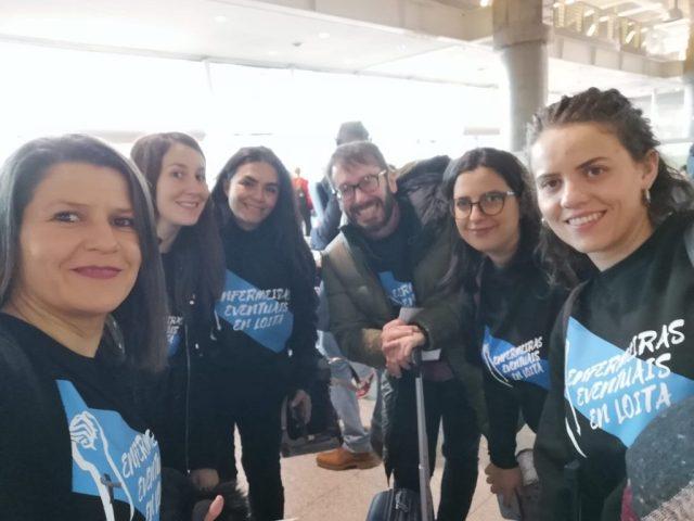 Las enfermeras eventuales de Galicia denuncian su situación en el Parlamento Europeo - Noticias de enfermería y salud