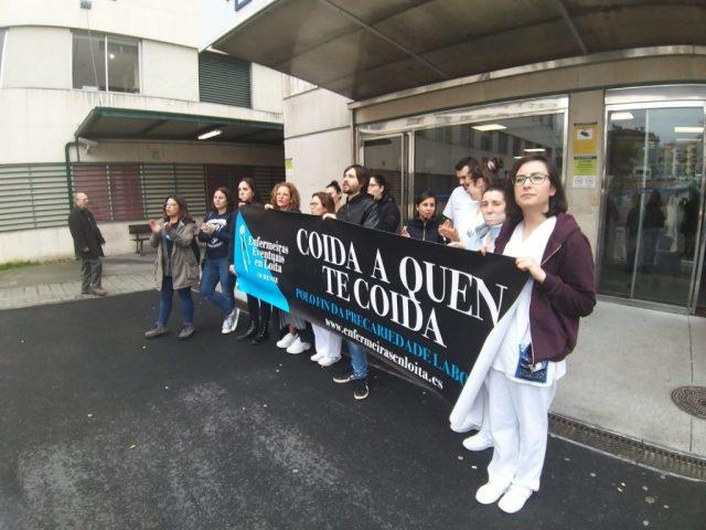 Las enfermeras eventuales gallegas denuncian la contratación irresponsable durante la pandemia - Noticias de enfermería y salud