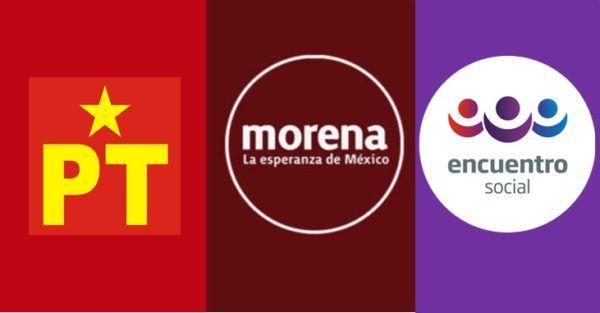 Resultado de imagen para Morena y Morena-PES / 18 distritos locales