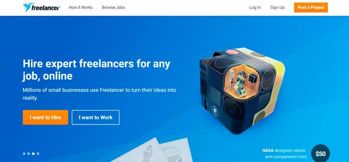 freelancer la plataforma número uno de contratación online