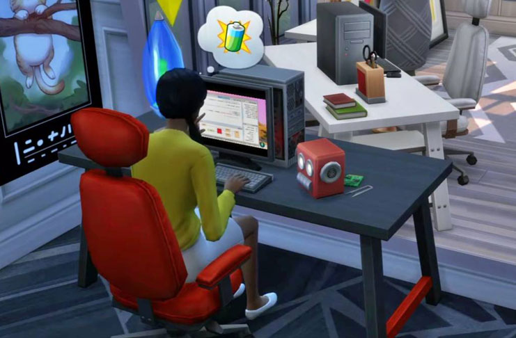 Ahora los sims podrán ser freelancer