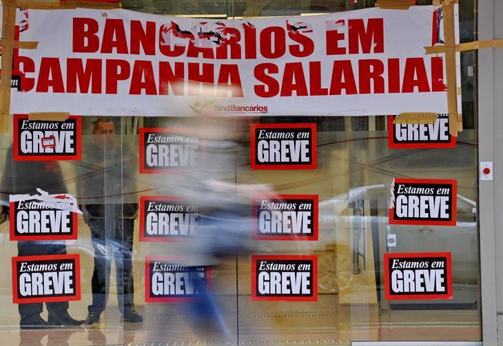 Bancários vão entrar em greve a partir da próxima terça-feira Adriana Franciosi/Agencia RBS