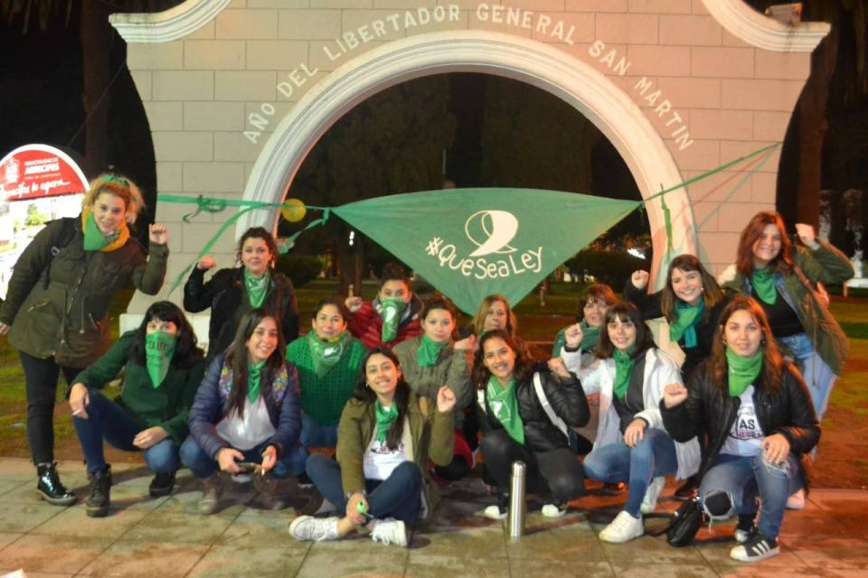 Aborto Congreso Pañuelos Verdes