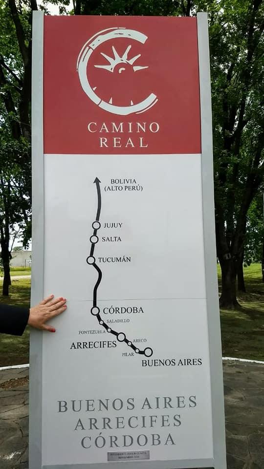 Monolito-Camino-Real