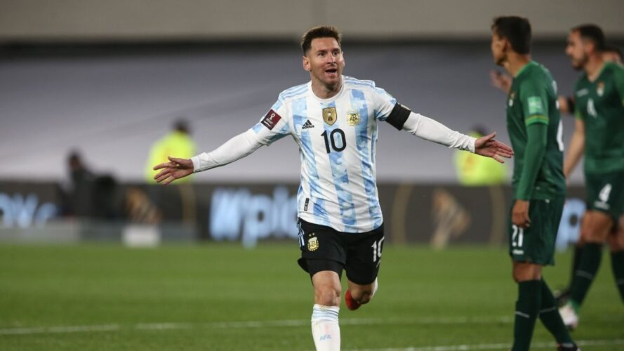 Una bestia insaciable: los tres goles de Lionel Messi para Argentina ante Bolivia
