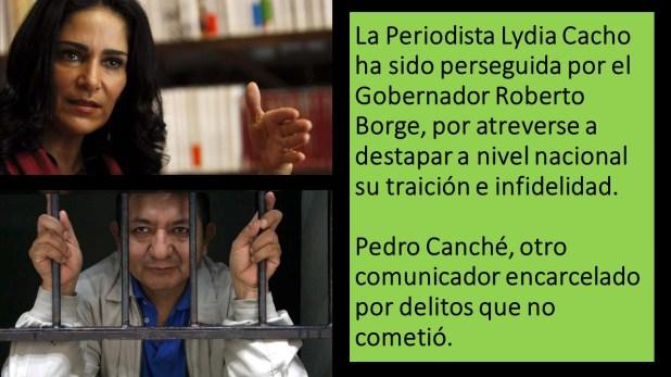 La Periodista Lydia Cacho ha sido perseguida por