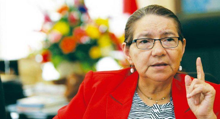 Norma Guevara: Imposición del bitcoin y reelección presidencial no son mandatos del pueblo